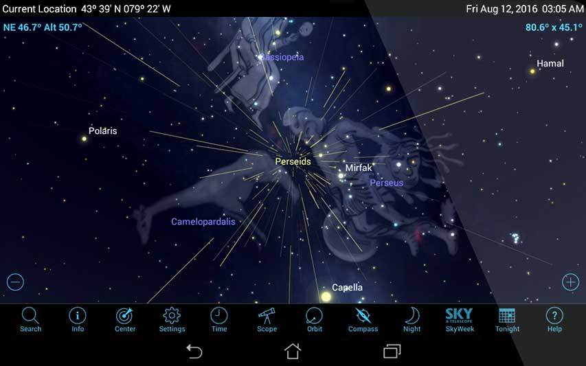 Galerry Perseid Meteor Shower Gets a Boost from Dark Moon Jupiter