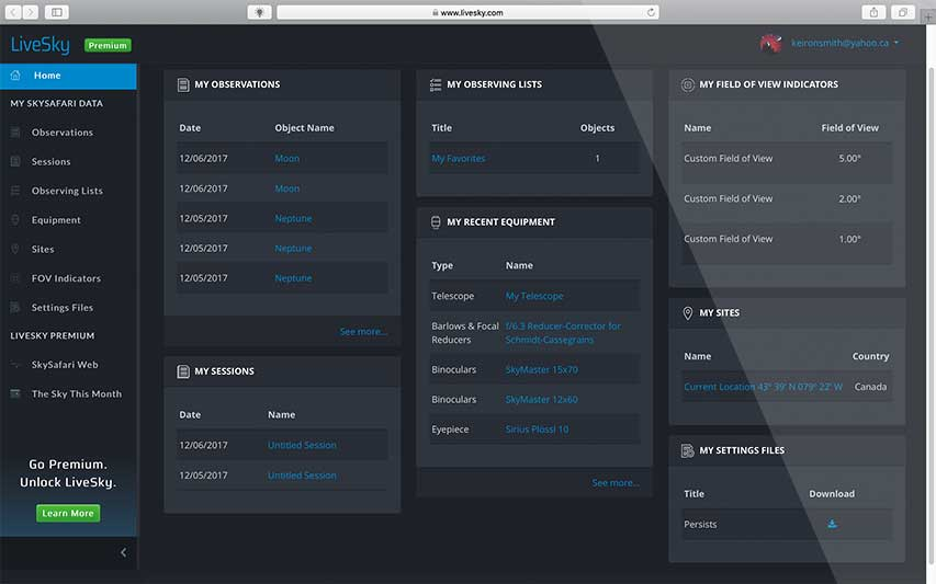 LiveSky | Desktop Data Management & Device Sync Service